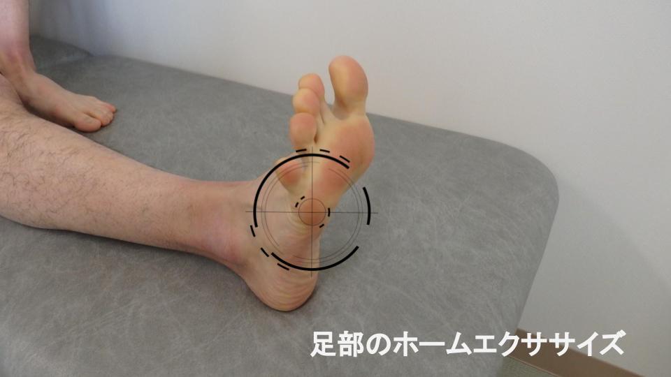 足部のホームエクササイズ